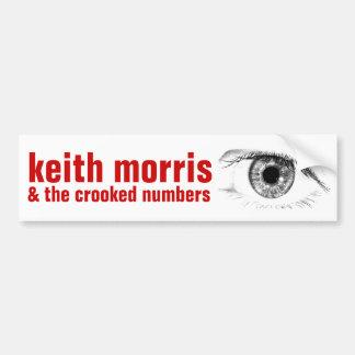 Keith Morris et l'adhésif pour pare-chocs tordu de Autocollant De Voiture
