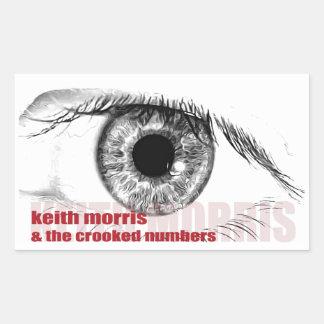Keith Morris et les autocollants tordus de nombres