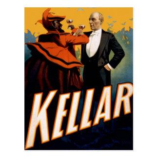 "Kellar - ""boisson avec la carte postale du diable"""