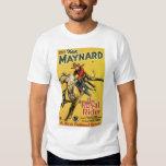 Ken Maynard 1929 T-shirts vintages d'affiche de