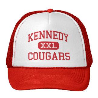 Kennedy - pumas - milieu - Redwood City Casquette De Camionneur