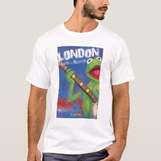 Kermit - affiche de Londres, Angleterre T-shirt