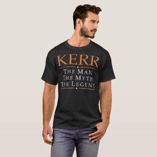 Kerr l'homme le mythe le T-shirt de légende