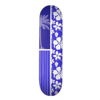 Ketmie bleue tropicale Paume Plateau De Skateboard