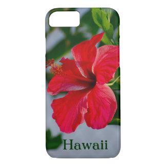 Ketmie de rouge d'Hawaï Coque iPhone 7