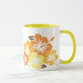 """""""Ketmie épique"""" dans la tasse orange"""