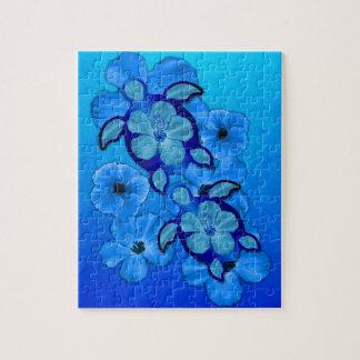 Ketmie et tortues bleues de Honu Puzzle