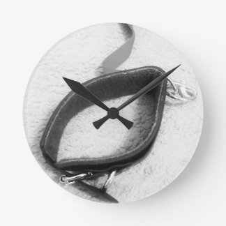 Kewl Slave Collar Round Wall Clock