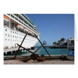 Key West - carte de voeux vierge