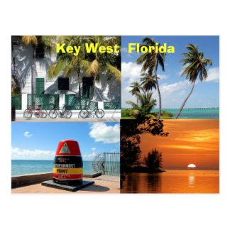 Key West historique la Floride Etats-Unis Carte Postale
