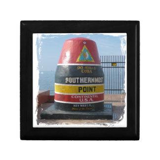 Key West Petite Boîte À Bijoux Carrée