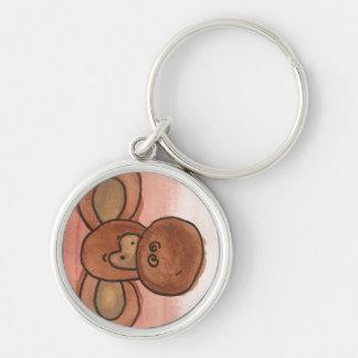 Keychain de singe porte-clefs