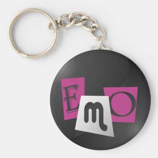 Keychain de typographie d Emo