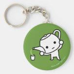 Keychain - GreenTea - billet vert Porte-clefs