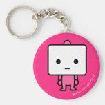 Keychain - tofu - PinkBack Porte-clef
