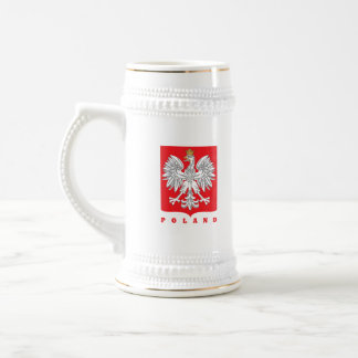 Kielbasa polonais 2 côtés chope à bière