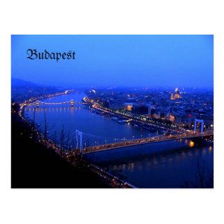 Kilato de Budapest, carte postale Danube de