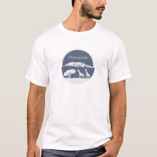 Kilimanjaro (bleu) t-shirt
