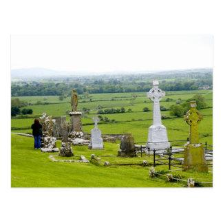 Killkenny, Irlande. Le spectacle dramatique de Carte Postale