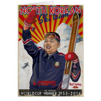 Kim Jong Un Carte De Vœux