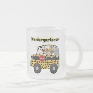 Kindergartener d'animaux de zoo mug