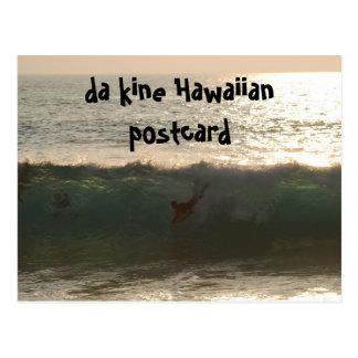 kine du DA Aloha d'Hawaï Cartes Postales