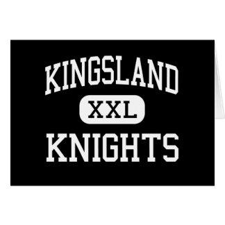 Kingsland - chevaliers - haut - Spring Valley Carte De Vœux