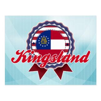 Kingsland, GA Carte Postale
