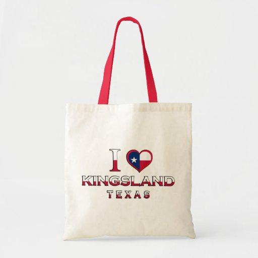 Kingsland, le Texas Sacs