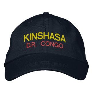 Kinshasa - casquette du Congo Emboidred