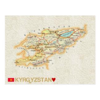 ♥ Kirghizistan de CARTES POSTALES de CARTE