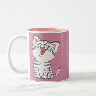 Kitty doux tasse 2 couleurs