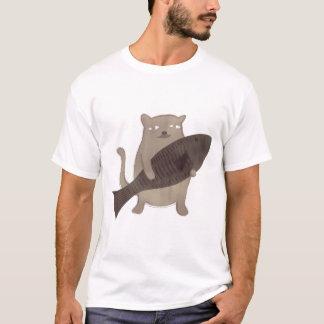 Kitty et ses poissons t-shirt