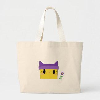 Kitty jaune grand sac
