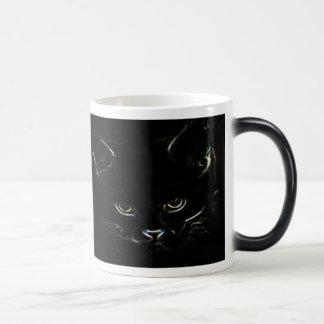 Kitty mignon Morphing la tasse