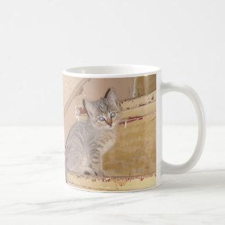 Kitty mignon mug blanc
