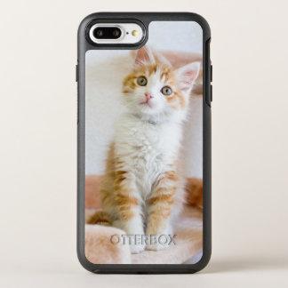 Kitty observé par bleu doux coque otterbox symmetry pour iPhone 7 plus