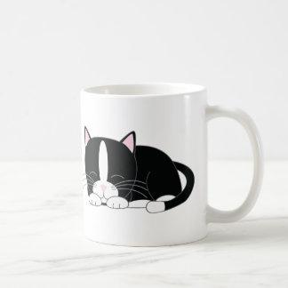 Kitty somnolent {smoking} mug