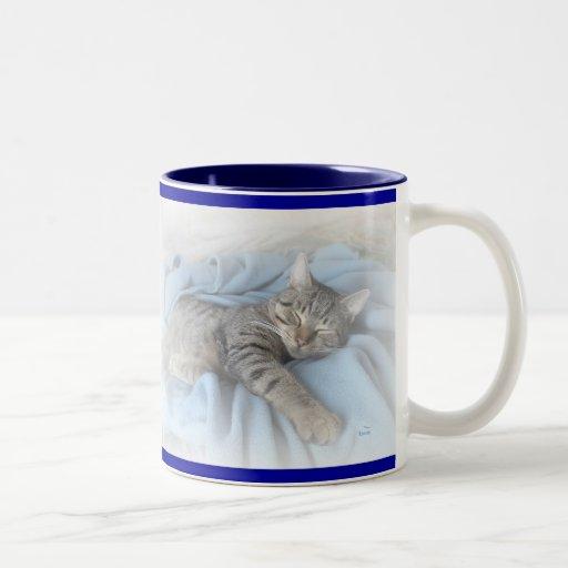 Kitty somnolent mug à café