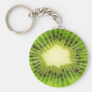 Kiwi frais porte-clef