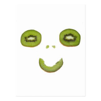 Kiwi - Smile - carte postale