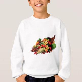 Klaxon de corne d'abondance de récolte d'automne sweatshirt