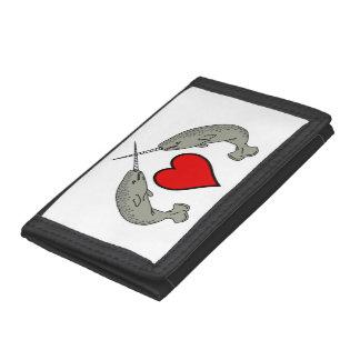 Klaxons croisés Narwhals et coeur