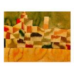 Klee - architecture orientale cartes postales