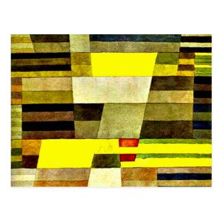 Klee - monument cartes postales