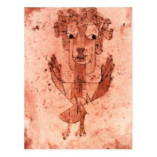 Klee - nouvel ange (Angelus Novus) Carte Postale