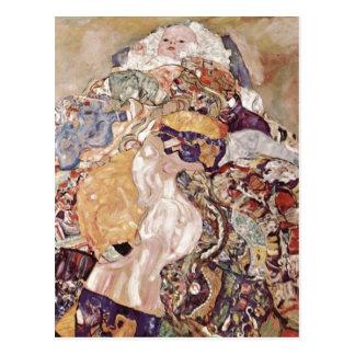 Klimt, bébé de bébé de Gustav (berceau) Espa ? ol  Carte Postale