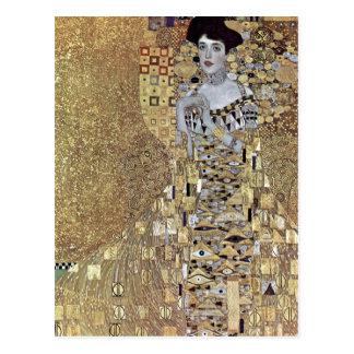 Klimt, Gustav Portr ? der Adele Bloch-Bauer de t Carte Postale
