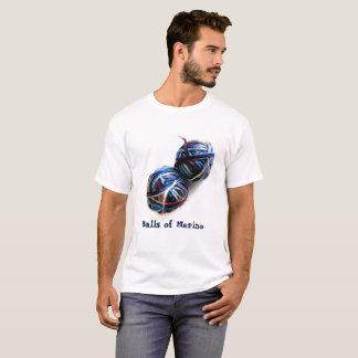 Knit de types et T-shirt frais de crochet