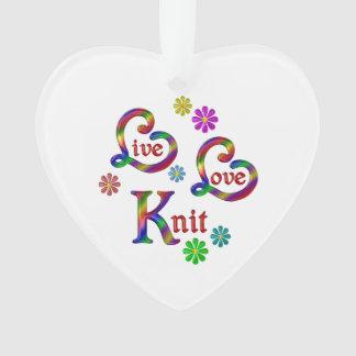 Knit vivant d'amour